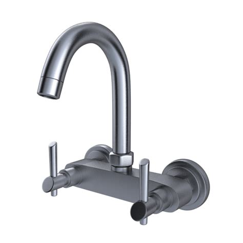 wall mounted kitchen faucets india buy immacula sink mixer with swivel spout wall mounted