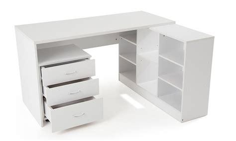 bureau avec etageres bureau blanc avec etagere caisson bureau lepolyglotte
