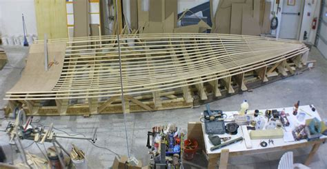 Boat Building Facility by Aquidneck Custom Inc Services Custom Sail Power Boat