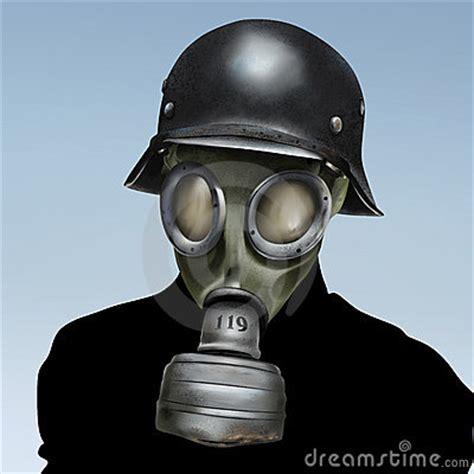 ww gas mask royalty  stock photo image