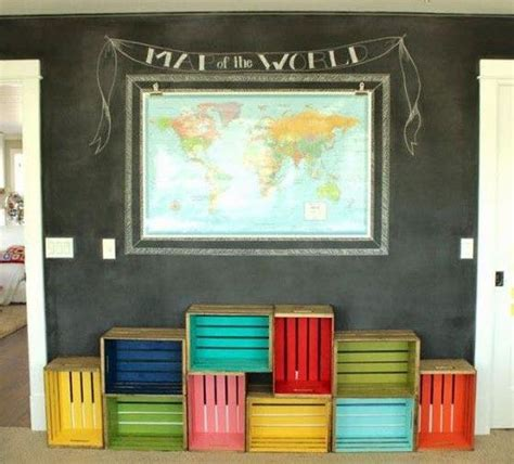 diy colored wooden crates     life livelier