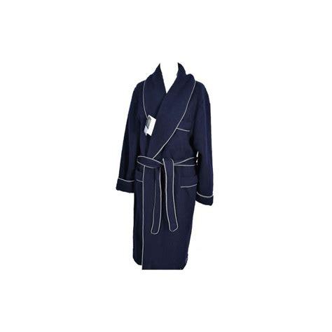 robe de chambre homme 100 des pyrenees marine