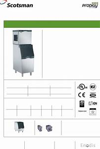 Scotsman Ice Ice Maker C0522 User Guide