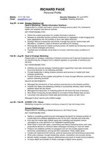 resume objective statement exles entry level sales and marketing resume profile personal profile resume sles template personal resume profiles exles good