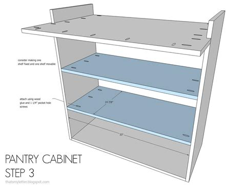 kitchen pantry cabinet plans free kitchen pantry cabinet buildsomething 8375