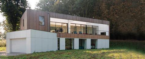 ophrey maison contemporaine bois nord pas calais