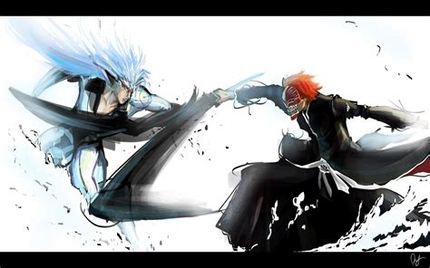 anime fight full grimmjow jaegerjaquez wallpapers wallpaper cave