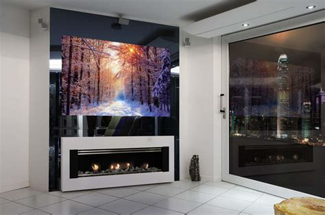 the recessed mirror tv luxury lifestyle london
