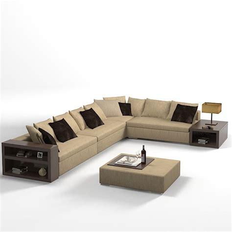 modern sofa corner model