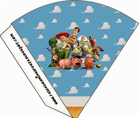 Toy Story Bunting Template by Toy Story 3 Free Party Printables Oh My Fiesta In English