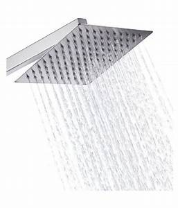 Buy SSS 8X8 Inches Ultra Slim Shower Head With 15 Inches