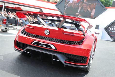volkswagen gti sports car volkswagen gti roadster vision gran turismo set for gt6