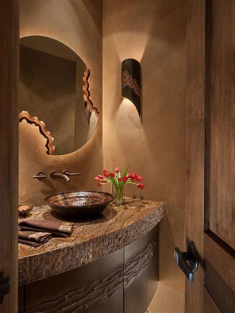 powder room mirror powder room contemporary with bathroom southwest bathroom home design ideas pictures remodel