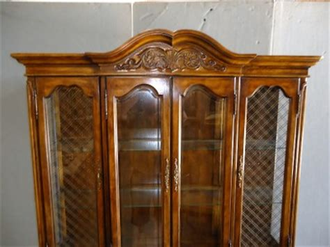 very nice hibriten china cabinet by bernhardt furniture co