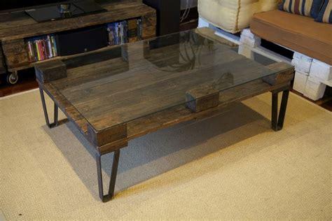 mesa hecha  palets recicladosancho de la mesa largo