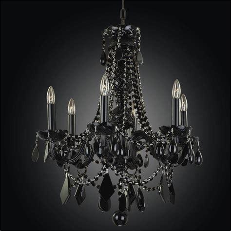 black chandeliers black tie 583 glow 174 lighting