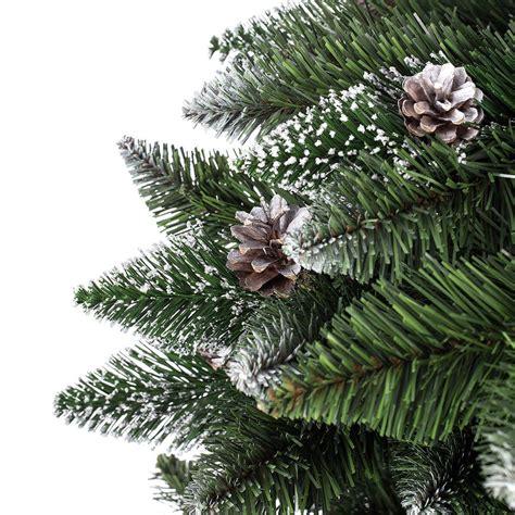 piedistallo per albero di natale albero di natale quot effetto neve quot 180 cm opinioni e prezzi