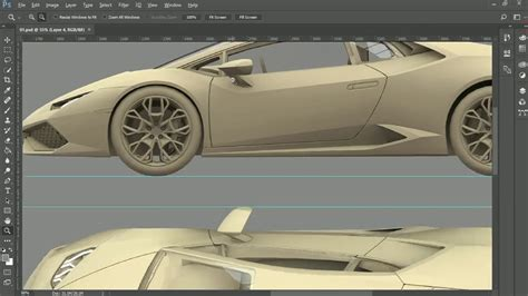 creating  blueprints  maya  photoshop pt  youtube