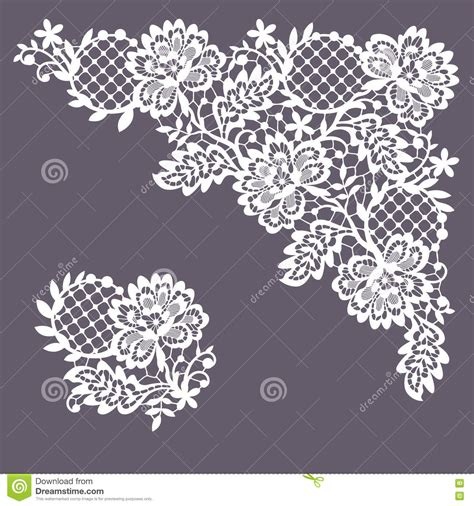 Lace Clip Corner Lace Clipart Collection