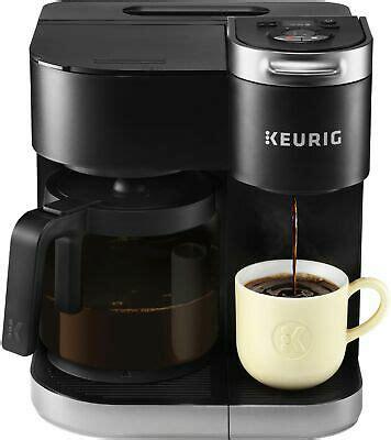 Keurig 2.0 and plus series. Keurig - K-Duo Single-Serve & Carafe Coffee Maker - Black ...