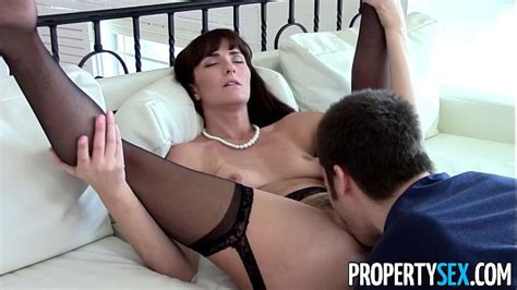 Propertysex Sexy Milf Agent Makes Dirty Homemade Sex Video With Client Xvideos Com