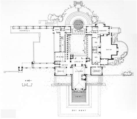 floor plans los angeles a cidade branca black white plans 700 hollyhock house plan