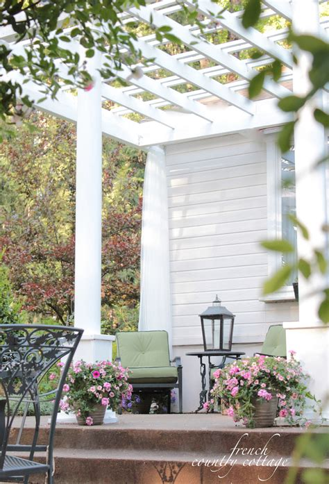 Country Front Porch by Adding Character Front Porch Pergola Country Cottage