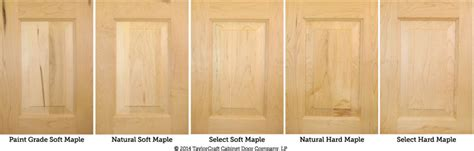 differences  hard maple  soft maple kitchen