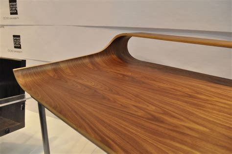 solid wood dining table toronto stylish curved minimalist desk digsdigs