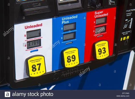 Miami Florida Gas Station Petrol Pump Octane Rating