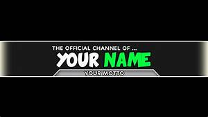 channel art template cyberuse With cool youtube channel art templates