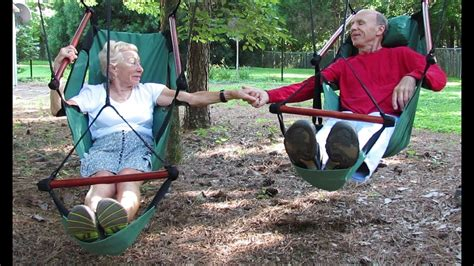 How To Hang A Hammock Between Trees by How To Hanging Two Air Chairs Between Two Trees
