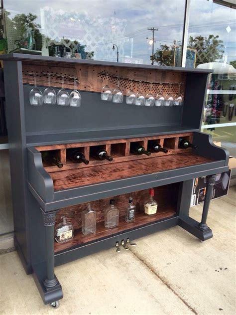 restore   piano   wine rack bar omg swooooon