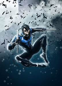 NightWing Blue by LeonardoEnrique on DeviantArt
