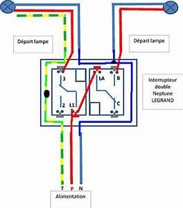 Branchement Electrique Volet Roulant Sur Prise De Courant : schema electrique branchement interrupteur double bv ~ Dailycaller-alerts.com Idées de Décoration