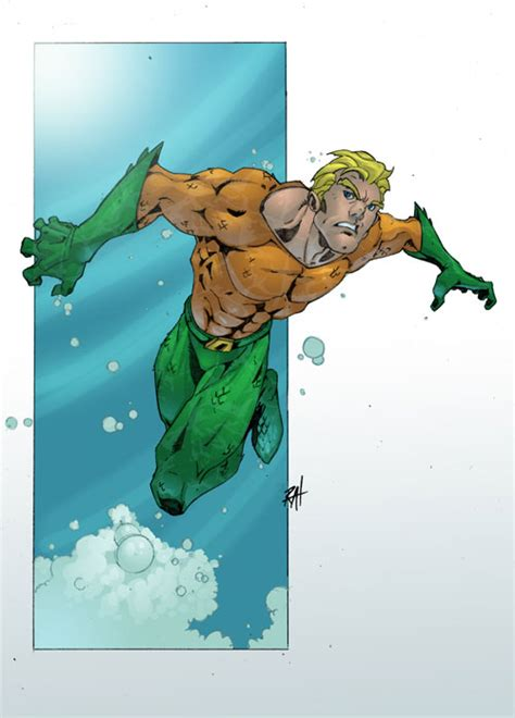25 Aquaman Illustration Artworks  Naldz Graphics