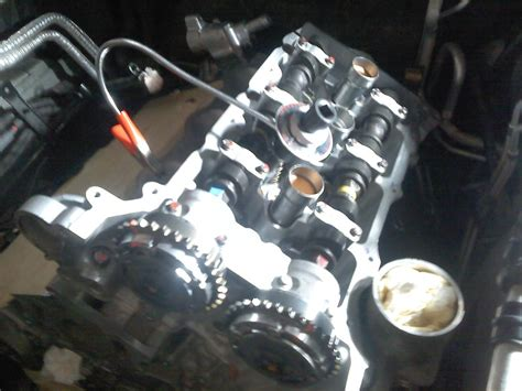 05 Srx Ly7 Post Timing Chain Fail Engine Replace And Build