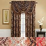 amazon com anna s linens brown draperies curtains