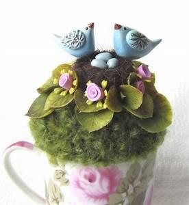 1000+ images about Bird Nest Decor on Pinterest Pedestal