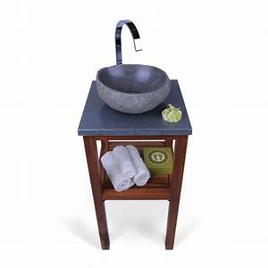 Platte Für Waschtisch : flu stein waschtisch platte smini grau 40x40x3cm bei wohnfreuden kaufen ~ Markanthonyermac.com Haus und Dekorationen