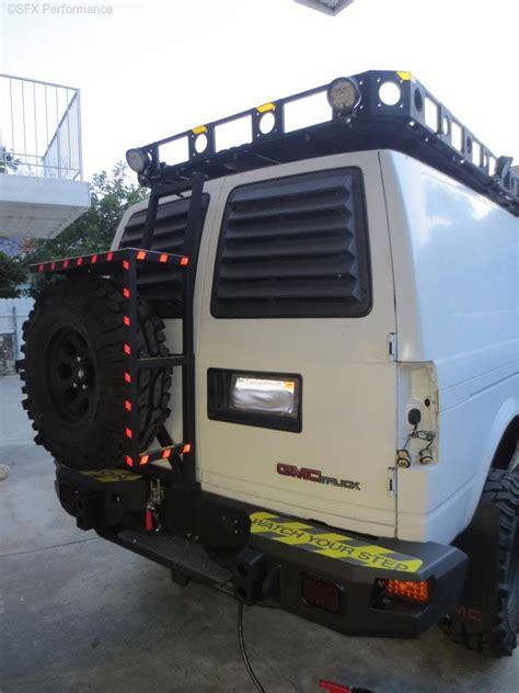 gmc safari chevy astro van window louvers pop