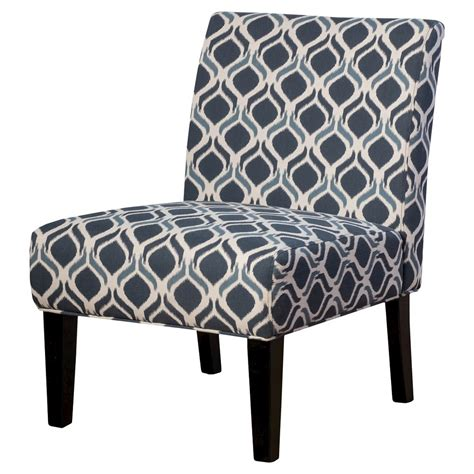 compare conley fabric accent chair geo print blue