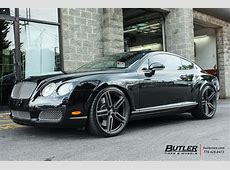 Bentley Continental GT with 22in Vossen HF1 Wheels