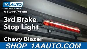 How To Install Replace 3rd Brake Stop Light 2000