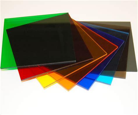 Cast Acrylic  Transparent Colors  Tap Plastics