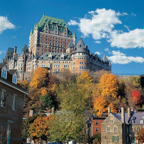 Top Luxury Hotels Quebec City Travel Leisure
