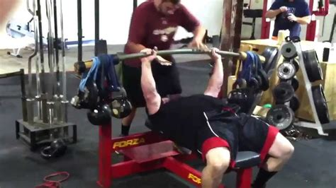 bamboo bench press bamboo bar earthquake bar bench press