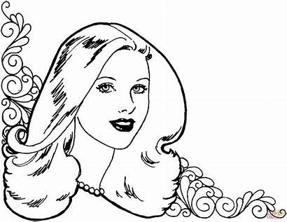 Coloring Pages Woman Printable Skip Main Drawing