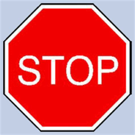 stop sign template distance learning with a twist of creative process