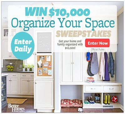 bhg win win 10 000 to organize your space with bhg com